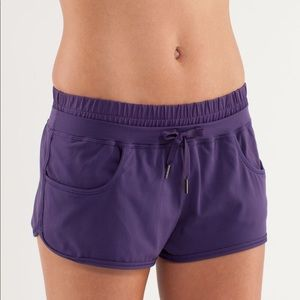 Lululemon Strength and Tone Short in Concord Grape